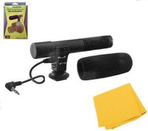 Mini Condenser Microphone For Sony FDR-AX100 FDR-AX53 AX33 HDR-CX900 PJ810 PJ790