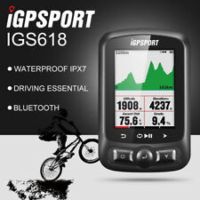 IGPSPORT IGS618 ANT+ GPS Cycling Speedometer Bike Computer Black with Bracket