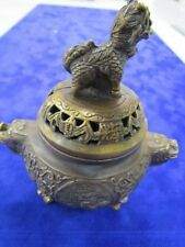 Brass Original Antique Asian Incense Burners