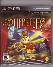 Puppeteer [PlayStation 3 PS3, Platformer, Sony Exclusive Video Game] NEW
