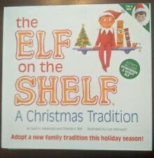 Elf on The Shelf a Christmas Tradition Toy Figure EOTS Boy NIB Deluxe Box Set