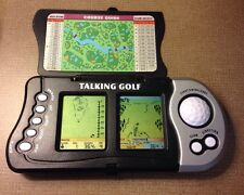 Excalibur Double Screen Talking GOLF Handheld Electronic Travel Game Model 383-2