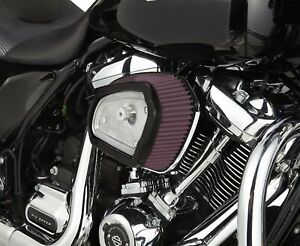 Arlen Ness Chrome Backing Plate Stage 1 Big Sucker for Harley Touring FLH 17-Up