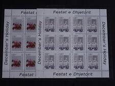 Kosovo Mi.-Nr. 16/17 ** Weihnachten und Neujahr im Kleinbogen - 180 M€