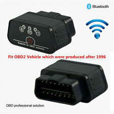 ELM327 WiFi Bluetooth OBD2 Car Code Reader Engine Fault Diagnostic Scanner Black