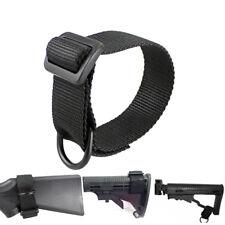 Tactical Butt stock Sling Loop Adapter Shoulder Strap for Shotgun Rifle Mount