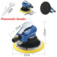 "6"" Air Random Orbital Pneumatic Sander Auto Body Orbit DA Sanding Low Vibration"