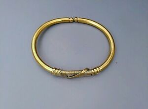 AFRICAN COPPER BRASS GOLD BRACELET BANGLE -JEWELRY