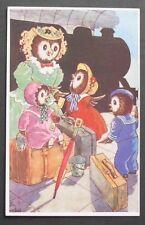 Lola Onslow Story Fantasy Dressed Owls Birds Mom Children Suitcase Trip Train