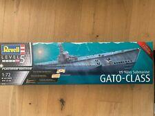 +++ Revell 05168 US Navy Submarine GATO-CLASS 1:72 05168