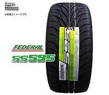 4  new Federal SS595 225/45ZR18 All Season Ultra High Performance Tires