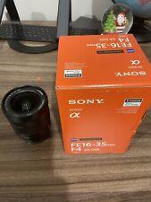 SONY Zeiss Vario-Tessar T SEL1635Z 16-35mm f/4 FE ZA OSS Lens