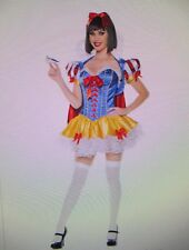 Sexy Snow White Costume Deluxe Trashy Design Halloween/Cosplay Corset Size MED