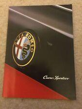 Alfa Romeo Cuore Sportivo UK Market Brochure 16 Pages Ft 164 146 & 155 Models