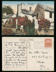 Mayfairstamps Bermuda Aunt Peggys Bermuda Postcard wwo_63999