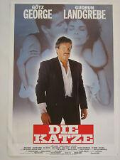 DIE KATZE Götz George - Original Filmplakat DIN A1 (gerollt)