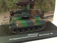 1/72 AMX30 ROLAND 57e REGIMIENT ARTILLERIE ANTIARIEN FRANCE  TANK TANQUE ALTAYA