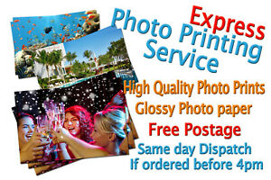 Photo Printing Service - All Sizes - Upload your pictures
