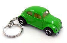 VW Volkswagen Beetle Green Key Chain Ring Fob Keychain