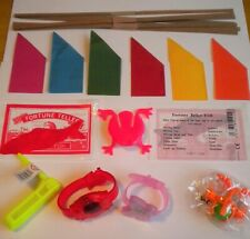 6 TOYS/GIFTS/GAMES/FILLERS HATS,SNAPS,JOKES TO MAKE YOUR OWN CHRISTMAS CRACKERS