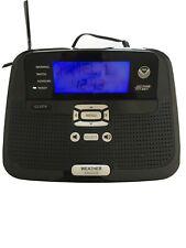 Radio Shack SAME All Hazards Desktop Weather Alert Radio NOAA #12-521