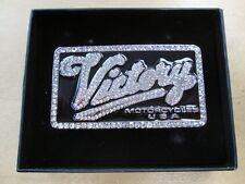Victory Belt Buckle Ladies Crystal
