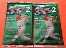 2-Pack Lot 1998 Bowman Chrome Series 2 HOBBY Pack Rookie RC?