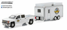 GREENLIGHT 1:64 HITCH & TOW 6 2015 CHEVY SILVERADO 1500 & CONCESSION TRAILER WH