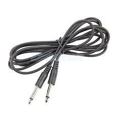 10ft Black Electric Patch Cord Lead Guitar Amp Cable