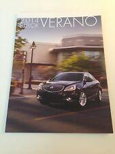 2014 Buick Verano 36-page Original Sales Brochure