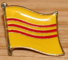 VIETNAM South (Old Historic) Flag Metal Lapel Pin Badge