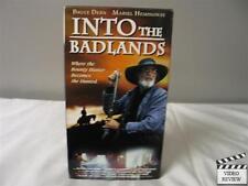 Into the Badlands VHS Bruce Dern, Mariel Hemingway, Dylan McDermott; Very Good