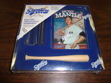 Mickey Mantle Miniature Replica Bat---Limited 1/15000---Factory Sealed--With COA