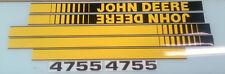 John Deere 4755 Hood Decals