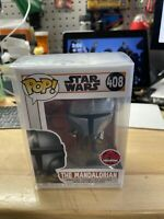 Funko POP! EB Games Exclusive Star Wars The Mandalorian W/ Free POP Protector!!!