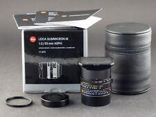 Leica M 35mm 2.0 ASPH 6bit Summicron 11673 6bit schwarz 10.10.17 FOTO-GÖRLITZ