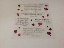 CUTE Heart  Christian ASSORTMENT stickers/Great for Borders!  CLEARANCE