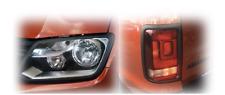 NEU für VW Amarok Scheinwerfer Rücklicht SET Licht Abdeckung Cover Blenden