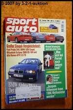 Sport Auto 1/96 Ford Probe Alpina B8 AMG C36 Alfa GTV