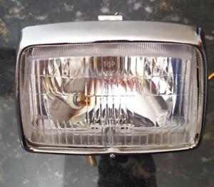 Square headlight assembly 12V for Honda cub C50 C70 C90
