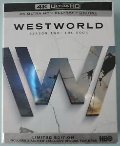 Westworld season 2   4K Blu-Ray + Blu-ray + Digital . New. Free Shipping