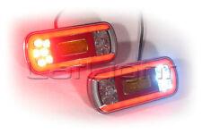 2x LED Rückleuchten Bremslicht Rückfahrleuchte Nebelschlussleuchte 12V 24V