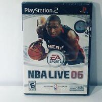 PlayStation 2: NBA Live 06 2006 Sealed Wade Ps2