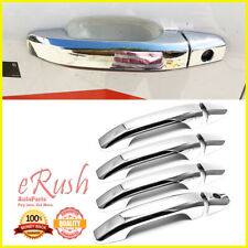 FOR 2014-2019 GMC SIERRA 1500+2500+3500 8PCS 4DR CHROME DOOR HANDLE COVER