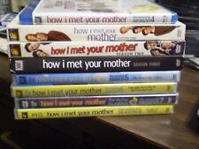 (8) How I Met Your Mother Season DVD Lot: Seasons 1-8  Neil Patrick Harris
