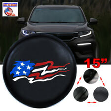 "15"" American Flag Spare Tire Wheel Cover For JEEP RV Truck SUV CAMPER tire cover"