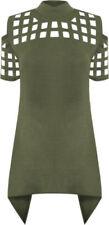 Maglie e camicie da donna a manica corta Verde Taglia 38