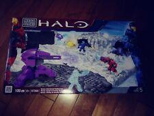 Mega Bloks Halo #97068 Versus : Snowbound Battlescape 100 pcs w/ 3 Figures NEW