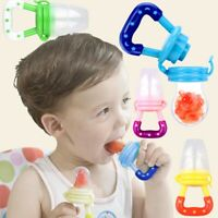 Dummy Soother Baby Infant Pacifier Nipple Teether Fresh Fruit Food Milk Kid Safe