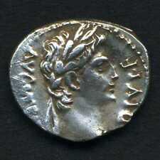 (663) DENIER D' AUGUSTE ( Rare : Tete Laurée ) ( CAIUS JULIUS CAESAR AUGUSTUS )